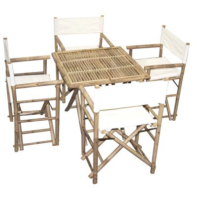 5 Piece Dining Set by Bamboo54 Savings