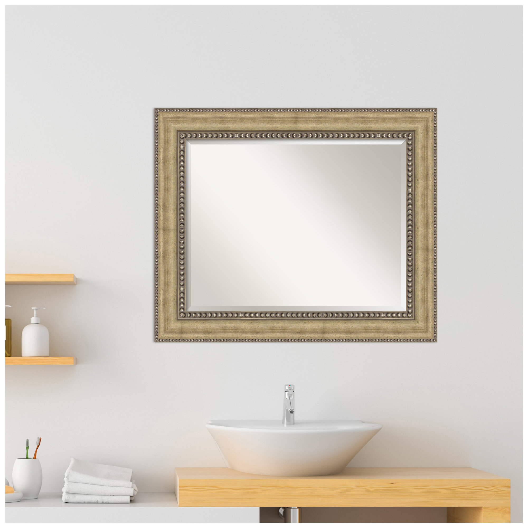 Alcott Hill Cassella Traditional Beveled Accent Mirror Reviews Wayfair
