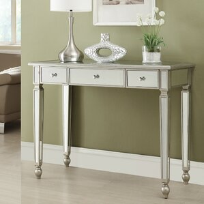 Hallway Console Table And Mirror mirrored console tables you'll love | wayfair