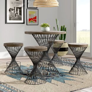 Jason 5 Piece Counter Height Dining Set by Mistana