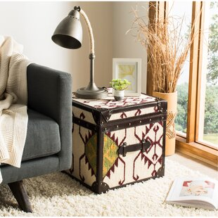 Linehan End Table with Storage by Millwood Pines