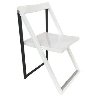 Wood Folding Chair (Set of 2) by CORNER HOUSEWARES