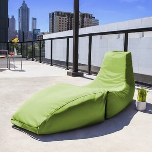 Prado Outdoor Bean Bag Chaise Lounge Chair