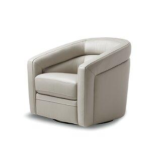 Pothier Swivel Club Chair by Orren Ellis