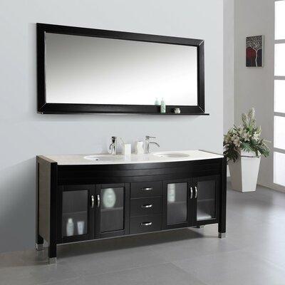 Cragmont 71 Double Bathroom Vanity Set