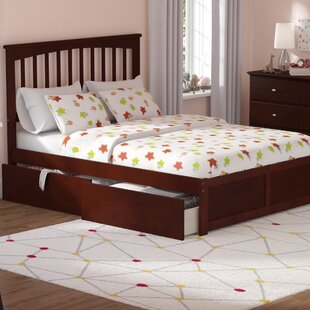Amir Platform Bed with Drawers