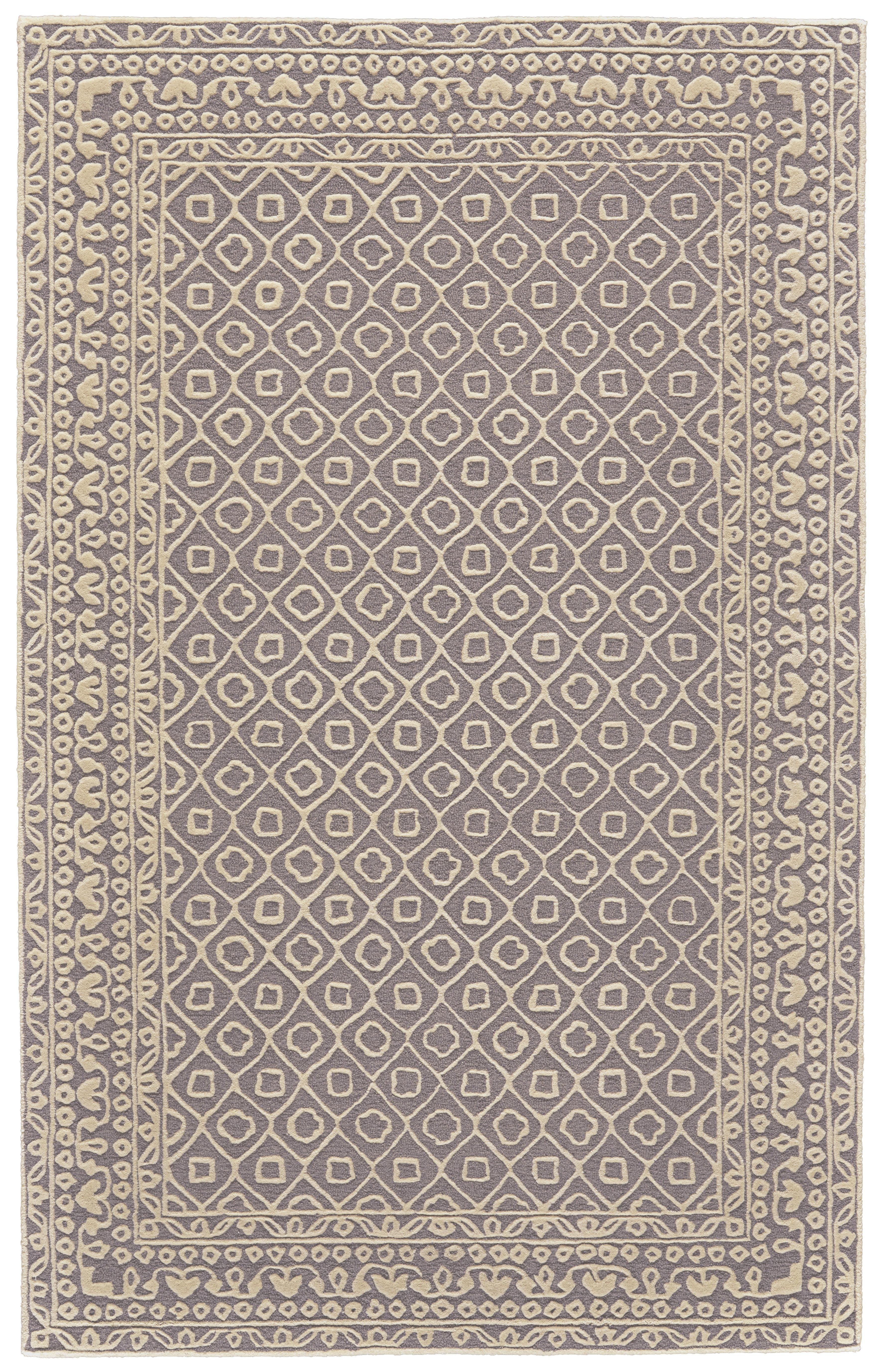 Aultman Southwestern Hand Tufted Wool Dark Gray Ivory Area Rug Reviews Birch Lane
