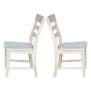 Lowell Solid Wood Dining Chair (Set of 2)..
