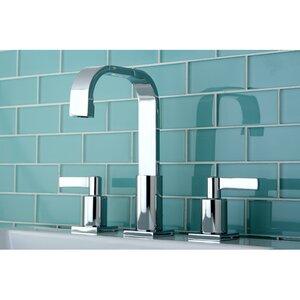 Continental Double Handle Widespread Bathroom Faucet