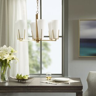 Madison Park Signature Avignon 6-Light Shaded Chandelier