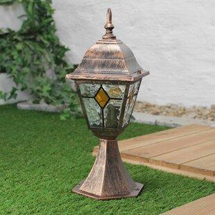 Chorley 1-Light Pedestal Lantern By Sol 72 Outdoor