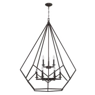 Massengill 9-Light Geometric Chandelier by Gracie Oaks