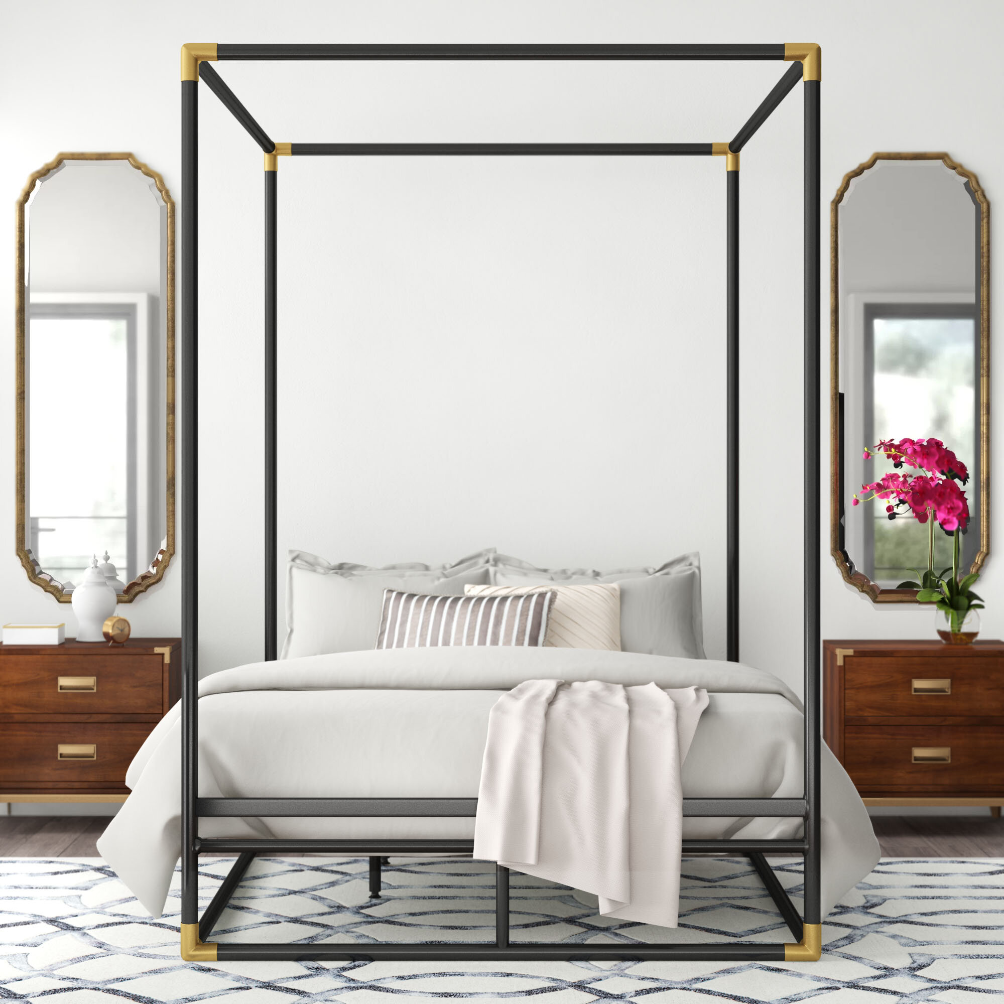 - Nadia Queen Canopy Bed & Reviews Joss & Main