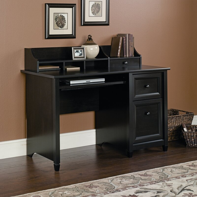 hutch home kitchen dp com shaped amazon monarch cheap hollow desk core l office dining with white