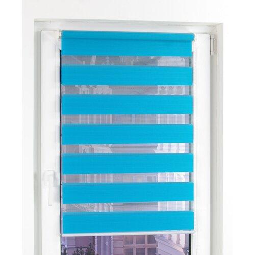 Springrollos Transparent 17 Stories Farbe: Blau  Größe: 210 L x 60 B cm   Heimtextilien > Jalousien und Rollos > Springrollos   17 Stories
