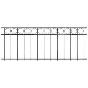 Plath Steel Fence (2m X 0.8m) By Sol 72 Outdoor