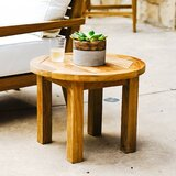 Galvan Teak Side Table