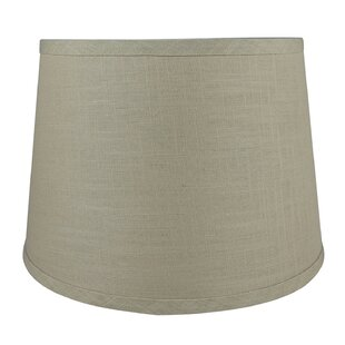 12 Linen Drum Lampshade