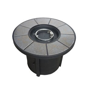 California Outdoor Designs Charleston Aluminum Propane Fire Pit Table
