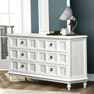 Mathews 6 Drawer Dresser by Bayou Breeze 2019 Sale