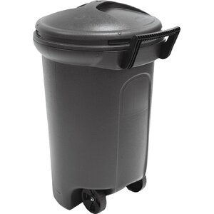 Wayfair Basics Critter Proof 32 Gallon Trash Can