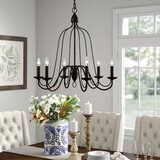 Hatfield 6-Light Candle Style Chandelier by Birch Lane™ Heritage