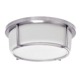 Latitude Run Tinna 1-Light LED Flush Mount