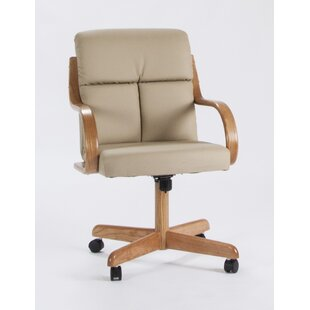 Frankie Arm Chair by Caster Chair Company Great Reviews