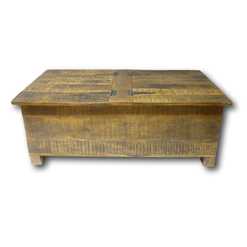 Galvez Trunk Coffee Table with Storage