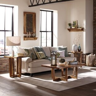 Beyers 3 Piece Coffee Table Set