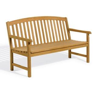 Harpersfield Rustic Wood Garden Bench