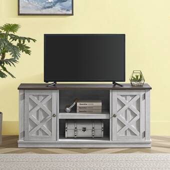 Loon Peak Ramapo Solid Wood Tv Stand For Tvs Up To 65 Reviews Wayfair