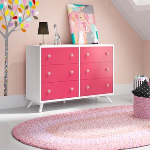 Dealba 6 Drawer Double Dresser by Mack & Milo