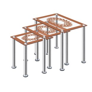 Patriot 3 Piece Coffee Table Set By 17 Stories