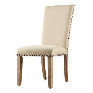 Peterson Upholstered Dining Chair (Set of 2) by Union Rustic