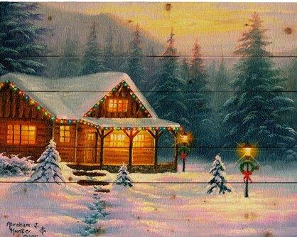 Hadleyhouseco A Christmas Cabin By Abraham Hunter