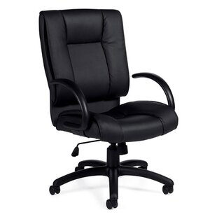 Offices To Go Luxhide Leather Executive Chair
