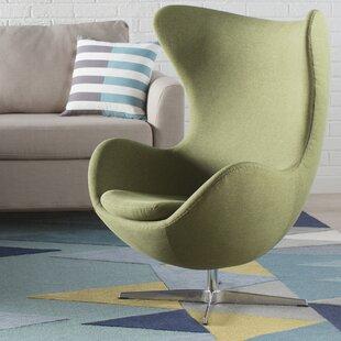 Alexia Swivel Wingback Chair