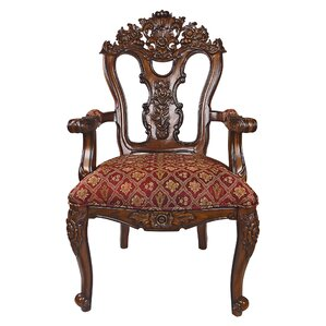 Isabella Ornate Armchair by Design Toscano