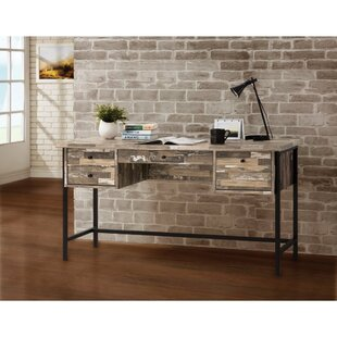 Percival Executive Desk by Union Rustic Modern