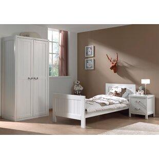 Aldrich 90 X 200cm 3-Piece Bedroom Set By Harriet Bee