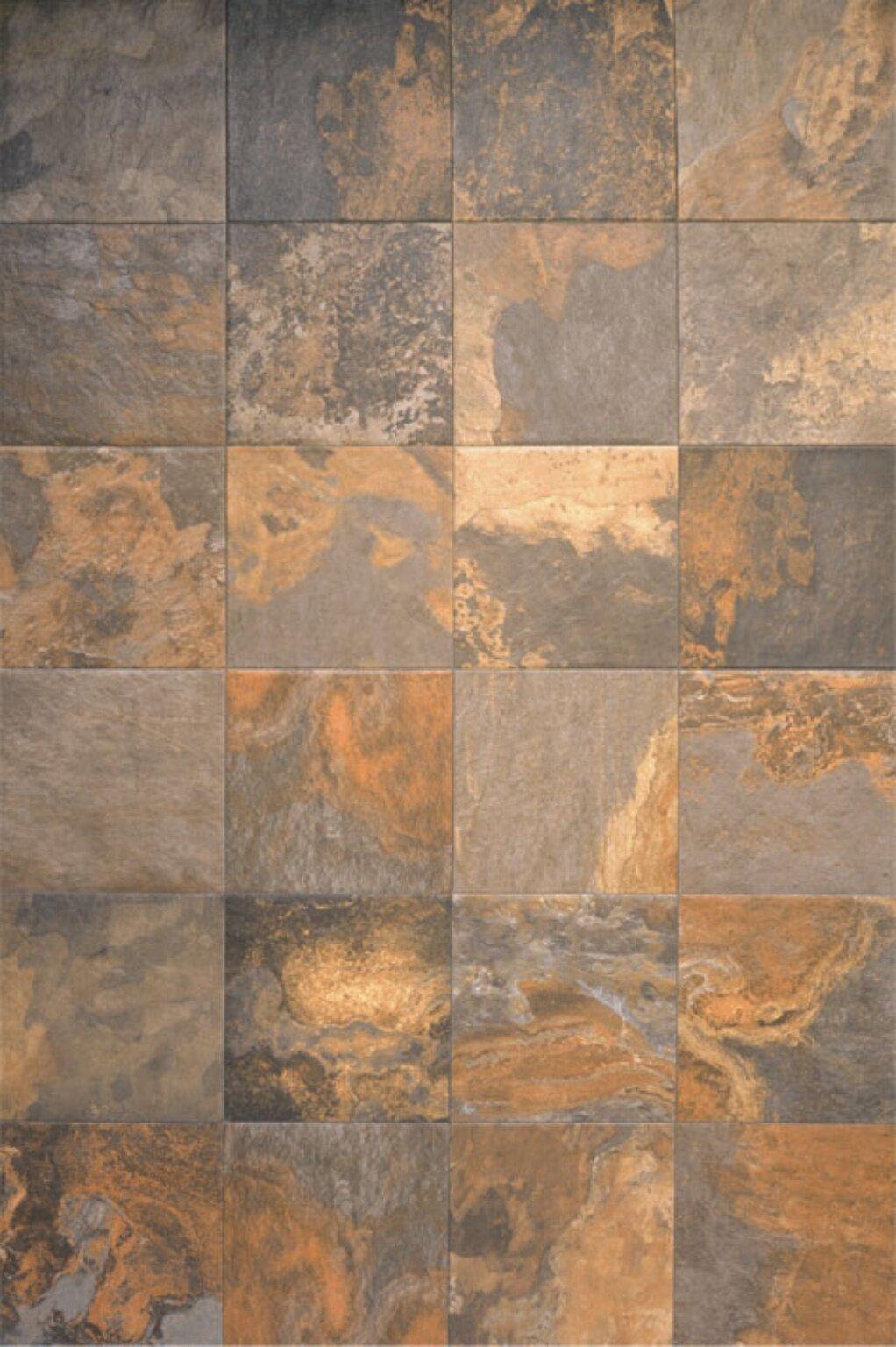 Ceramic Field Tile In Supremo Slate