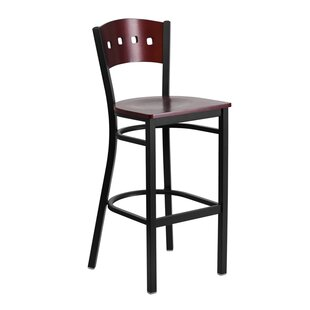 Maurice 29.75'' Bar Stool by Winston Porter