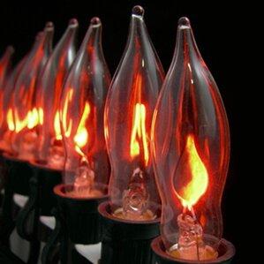 flame halloween light string - Halloween Lighting