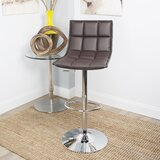 Foxcote Swivel Adjustable Height Bar Stool by Orren Ellis