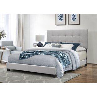 Jayde Upholstered Panel Bed by Ebern Designs Best