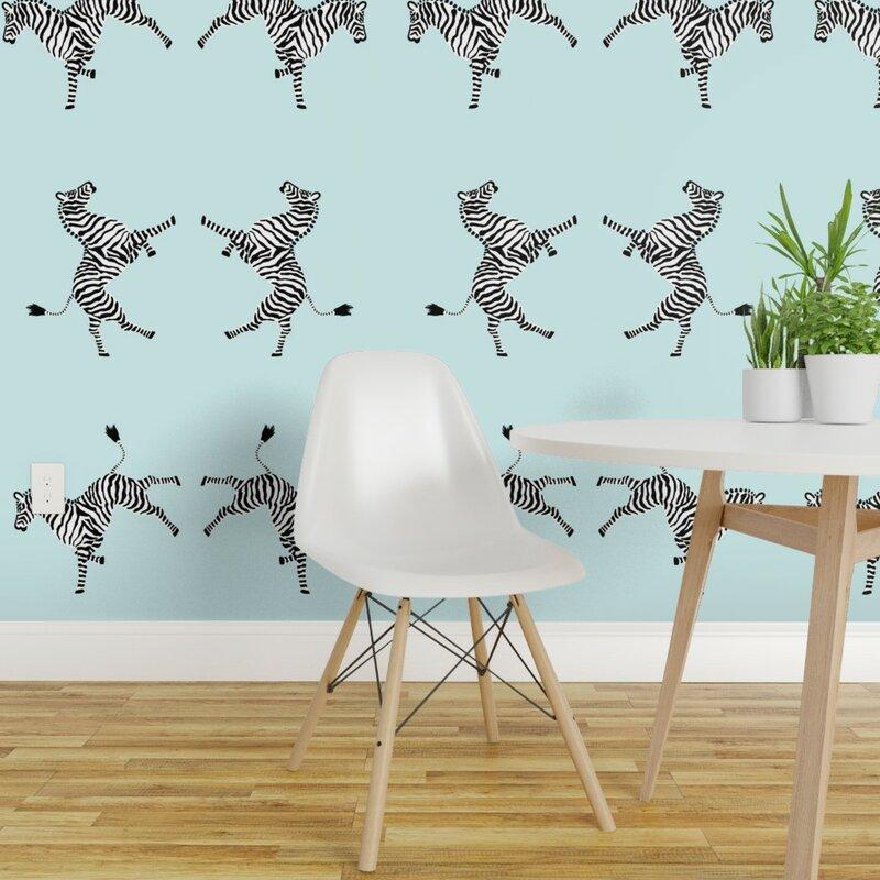 Spoonflower SAMPLE - Peel and Stick Wallpaper Panel   Wayfair