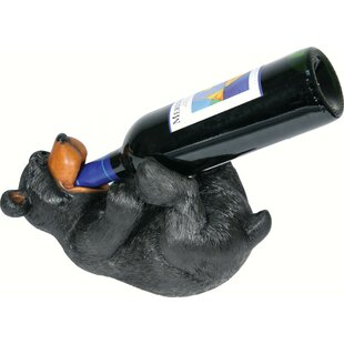 Sonora Bear 1 Tabletop Wine Bottle Rack b..