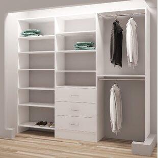 Top Reviews Demure Design 93W Closet System ByTidySquares Inc.