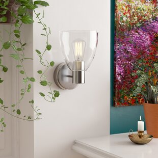 Cyrus 1-Light Sconce by Andove..